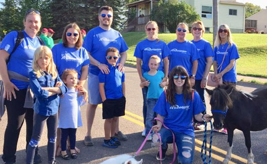 Spirit Valley Days Parade 2018 Duluth Minnesota with Share Advantage Credit Union
