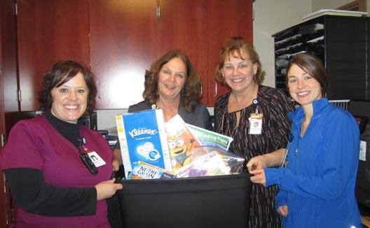 NICU Neonatal Intensive Care Unit Essentia donation from Members of Duluth Minnesota Share Advantage Credit Union